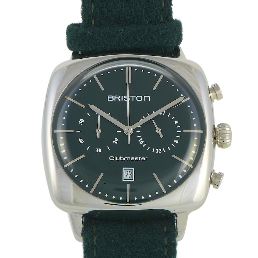 Briston Clubmaster Vintage Steel Wristwatch