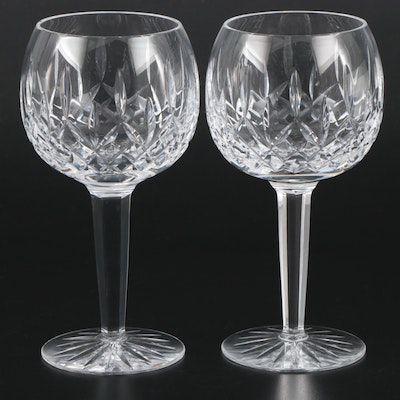 "Tyrone Crystal ""Rosses"" Balloon Wine Glasses, 1971–2009"