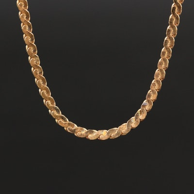 Serpentine Chain Necklace
