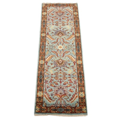 2'6 x 8'0 Hand-Knotted Indo-Persian Tabriz Runner Rug