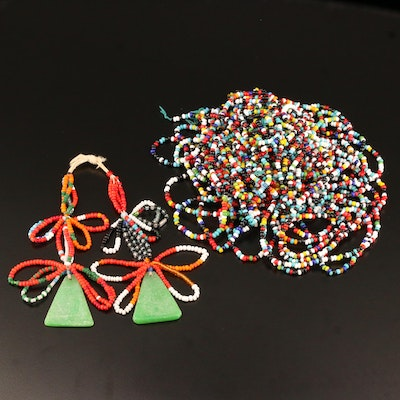 Assorted Beaded Jewelry
