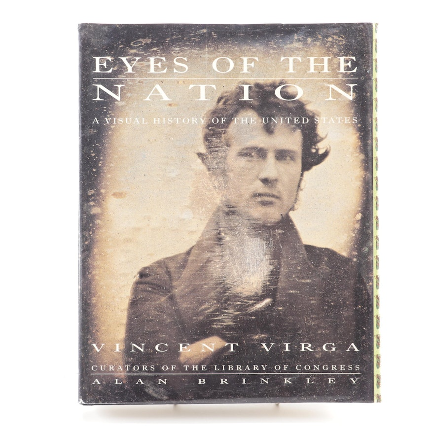 """First Edition """"Eyes of the Nation: A Visual History of the US"""" by Vincent Virga"""