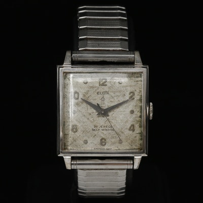 Vintage Elgin 10K Gold Filled Automatic Wristwatch