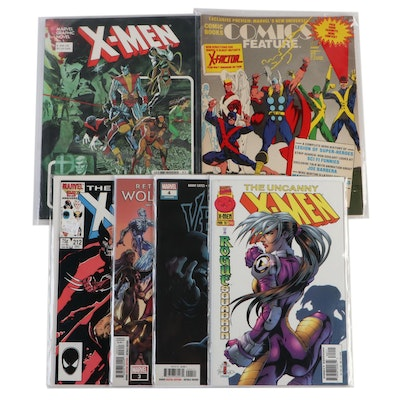 """X-Men,"" ""Wolverine,"" and ""Venom"" Comic Books"