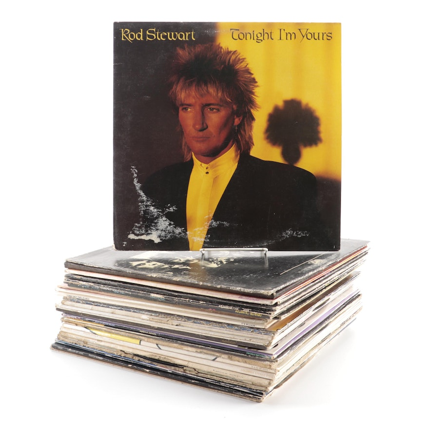 Simon and Garfunkel, Phil Collins, Doobie Brothers and More Vinyl Records
