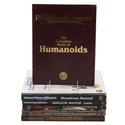 Dungeons and Dragons Handbooks and Monsters Manuals