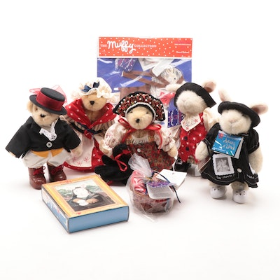 "Great Masterpieces ""Muffy"" Stuffed Bears and Accessories"