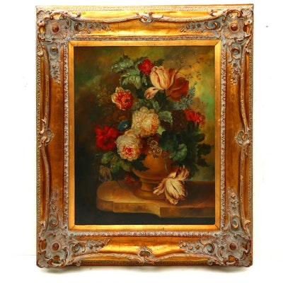 Mary Rose Still Life Oil Painting