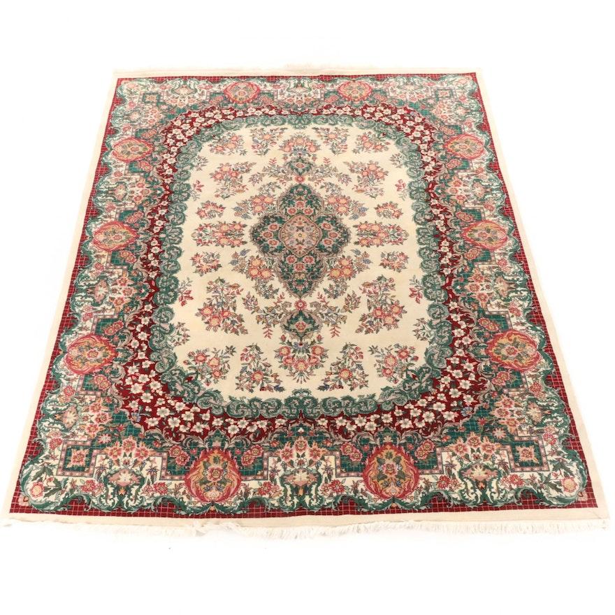 7'10 x 10'1 Hand-Knotted Sino-Persian Heriz Rug
