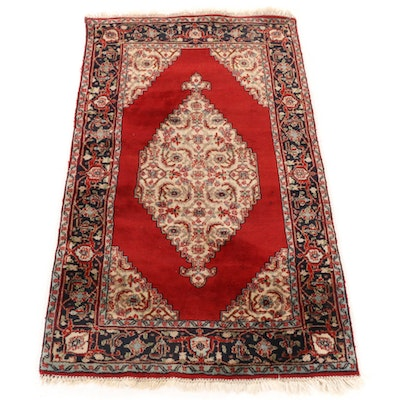 3'0 x 5'3 Hand-Knotted Indo-Persian Bijar Rug
