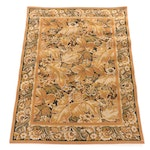 4'10 x 6'7 Stark Carpets Machine Made Rug with Gold and Ochre Palette