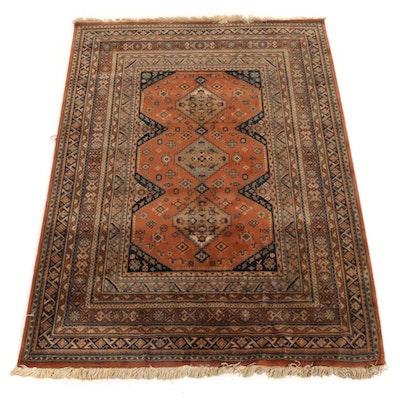 5'7 x 8'1 Hand-Knotted Afghani East Turkestan Rug