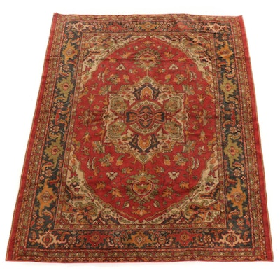 5'11 x 7'4 Power-Loomed Indo-Persian Rug