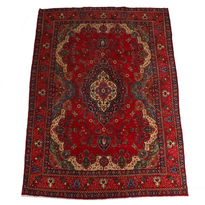 9'9 x 13' Hand-Knotted Wool Room Size Rug