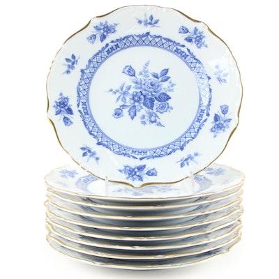 "Yamato ""Rosary"" Fine China Dinner Plates"