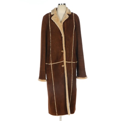 Bisang Brown Shearling Coat