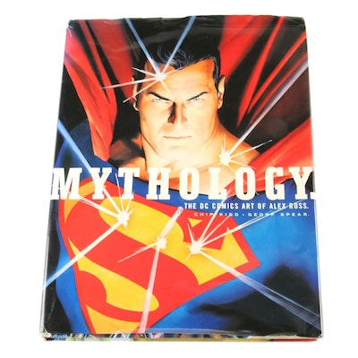 """""""Mythology: The DC Comics Art of Alex Ross"""" by Chip Kidd and Geoff Spear"""