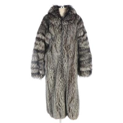 Tanuki Fur Coat from Svend Furs of Toronto