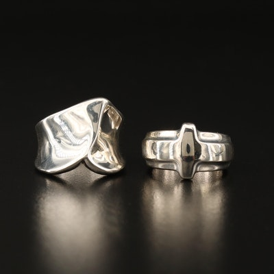 Robert Lee Morris Sterling Rings
