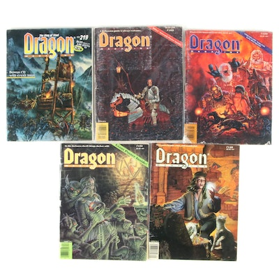 "Dungeons and Dragon's ""Dragon Magazine"" Collection"