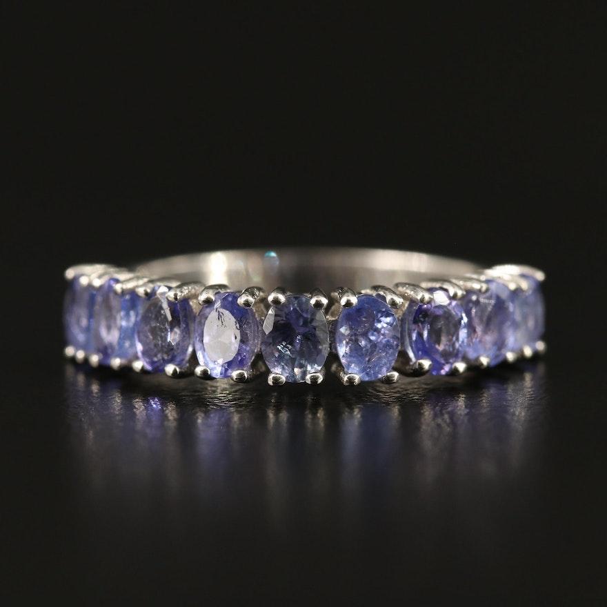 Sterling Tanzanite Ring