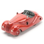 Schuco Examico 4001 Key-Wind BMW Roadster Mechanical Car, circa 1940