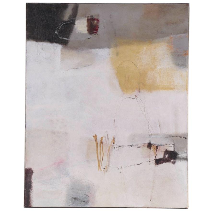 Barbara Smucker Mixed Media Abstract Painting