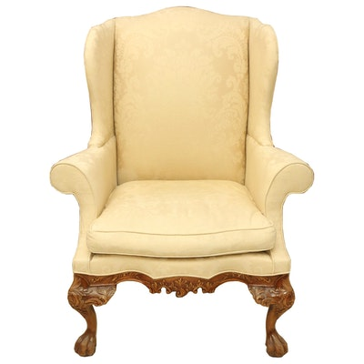 Hickory Chair Company Queen Anne Style Armchair