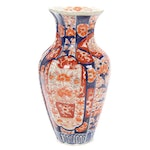 Japanese Imari Porcelain Vase, Late 19th Century