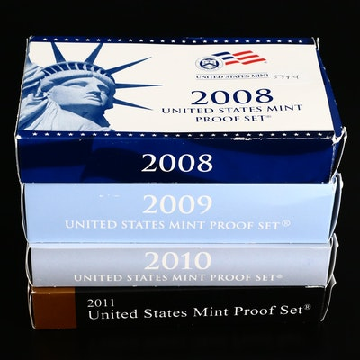 US Mint Proof Sets, 2008–2011
