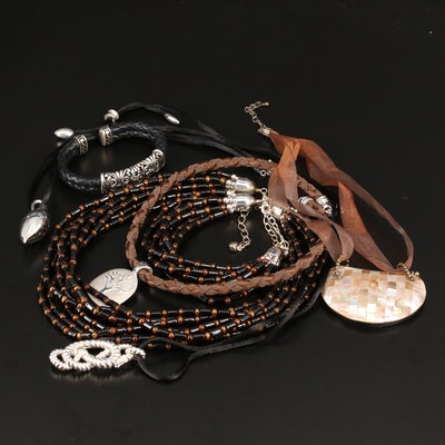 Sterling Necklaces and Bracelets Featuring Michael Dawkins and Joseph Esposito