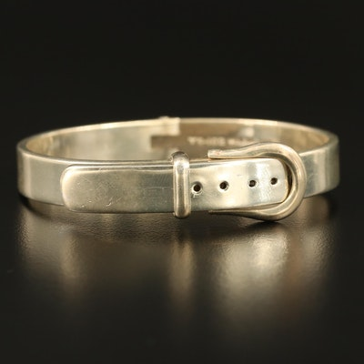 Mexican Sterling Buckle Bracelet