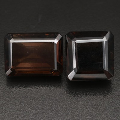 Loose 88.18 CTW Smoky Quartz