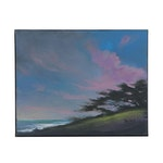 "Douglas ""Bumo"" Johnpeer Landscape Oil Painting ""Cypress Breeze"", 2020"