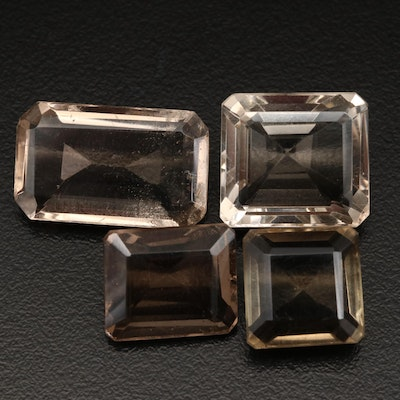Loose 73.63 CTW Smoky Quartz