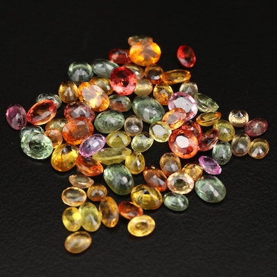 Loose 20.22 CTW Faceted Sapphires