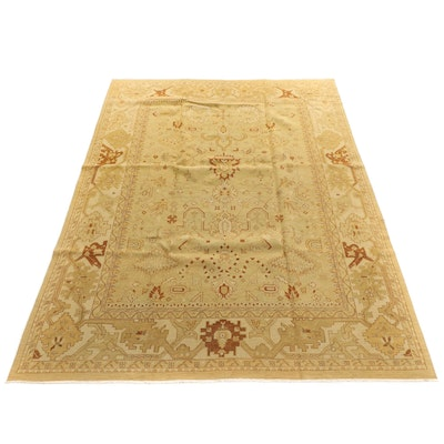 9'11 x 13'6  Handwoven Safavieh Indian Sumak Collection Room Sized Rug