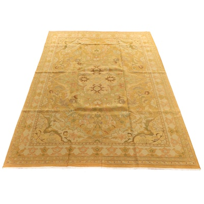 9'9 x 13'2 Handwoven Indian Sumak Room Sized Rug