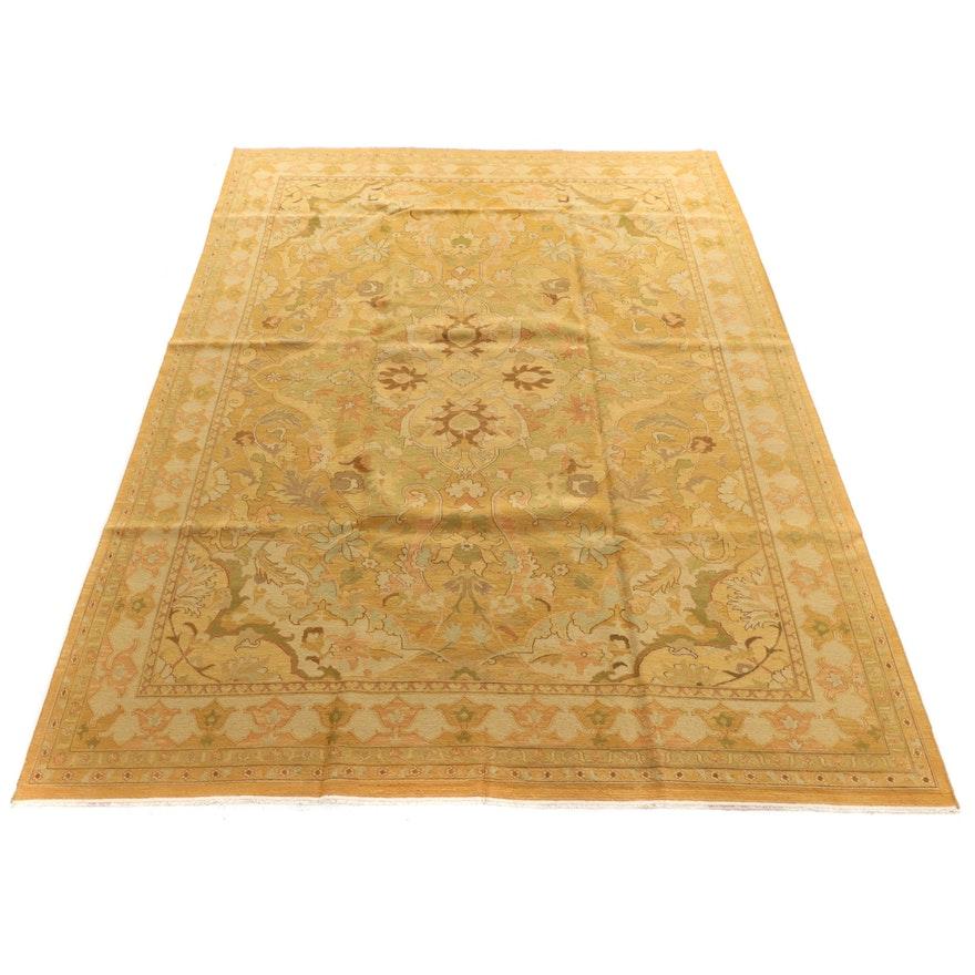 9'9 x 13'2 Handwoven Indian Sumak Room Sized Rug