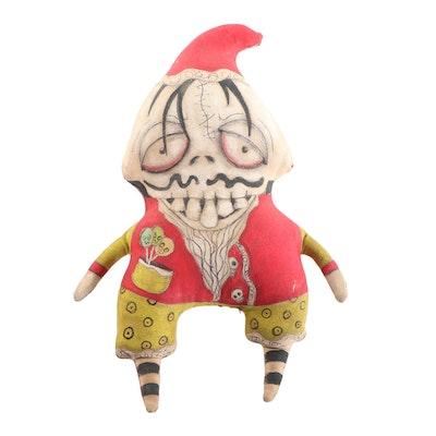 Debra Klopp Handmade Halloween Art Doll, 2014