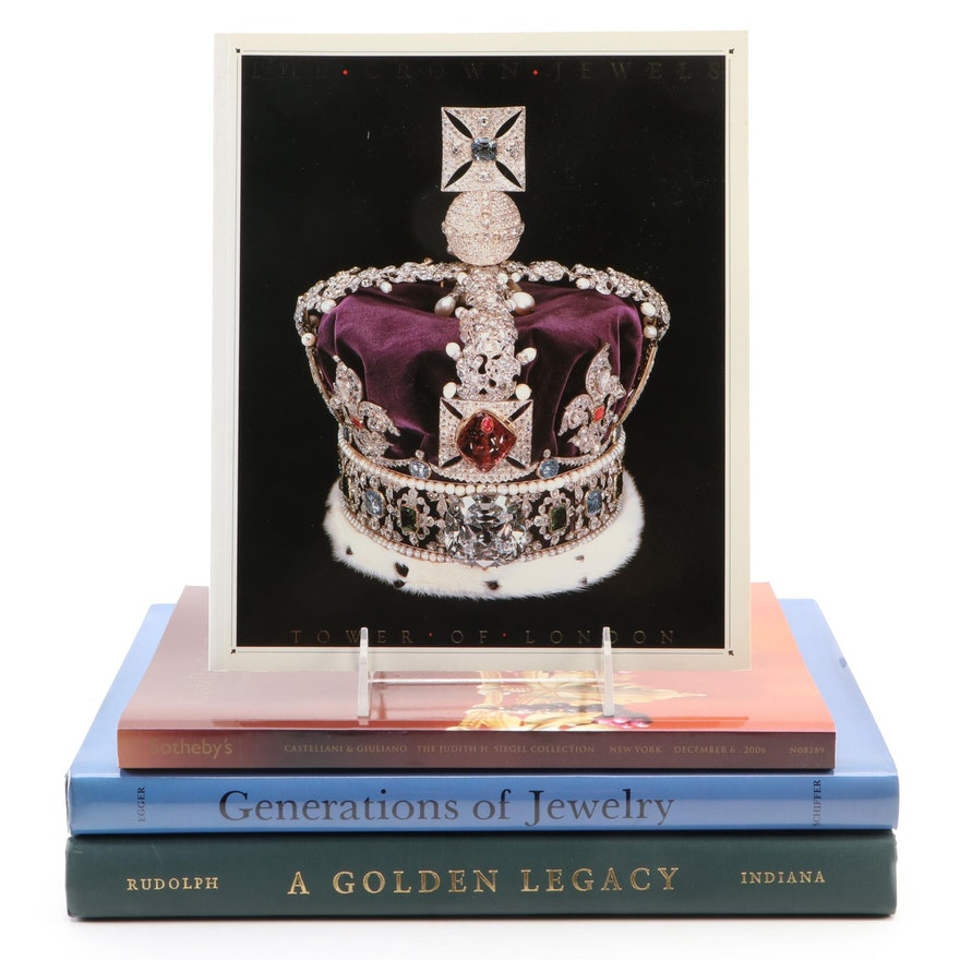"""The Crown Jewels"", ""Generations of Jewelry"", Sotheby's Catalog and Others"