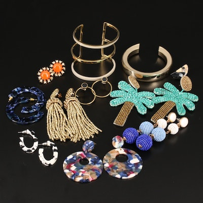 Collection of Jewelry Featuring J. Crew and Kenneth Jay Lane
