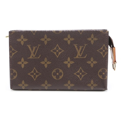 Louis Vuitton Small Accessory Pouch in Monogram Canvas