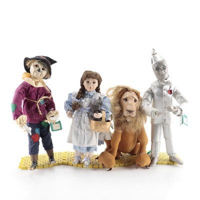 "Ashton-Drake Galleries Porcelain ""Wizard of Oz"" Dolls"
