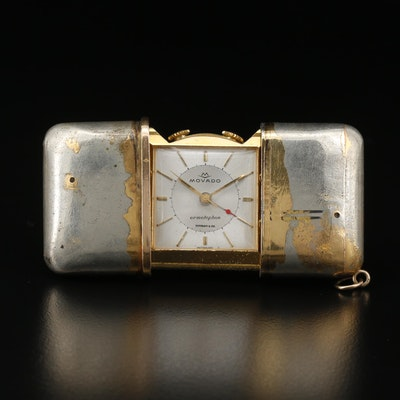 Vintage Movado for Tiffany & Co. Ermetophon Purse Watch