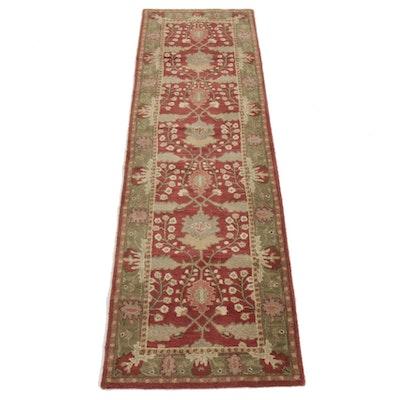 2'6 x 8'8 Hand-Tufted Indo-Persian Tabriz Runner Rug