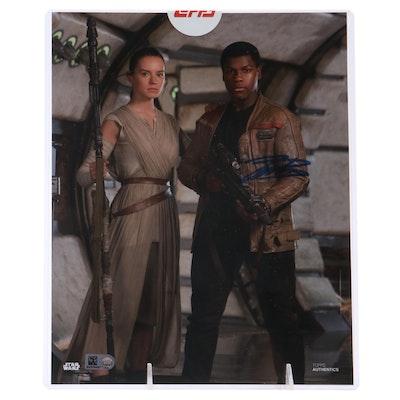Star Wars John Boyega Autographed Photo