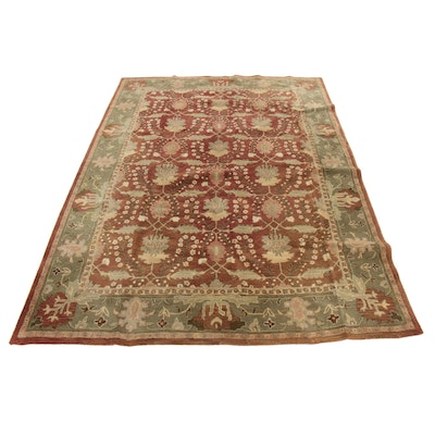 """9' x 12' Pottery Barn """"Franklin"""" Hand-Tufted Indo-Turkish Room-Size Rug"""