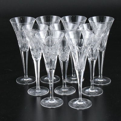 "Waterford Crystal ""Millennium"" Connoisseur Heritage Champagne Flutes"