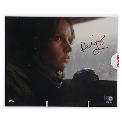 Rogue One Felicity Jones Autographed Photo